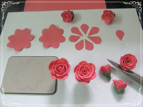 handmade to make cards crafts projects handmade foam flower