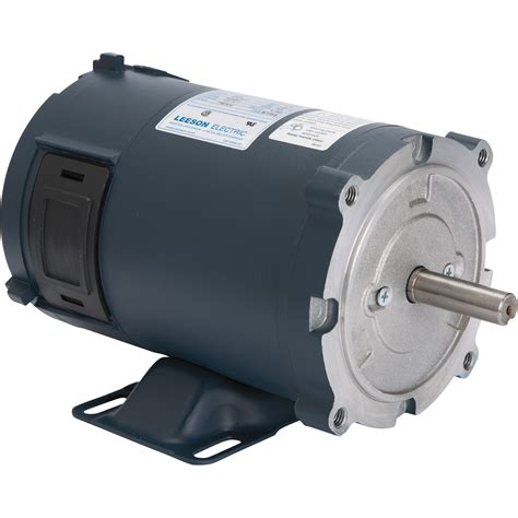 1 2 Electric Motor by Leeson 12 Volt Dc Motor 1 2 Hp 1750 Rpm 39 S Model