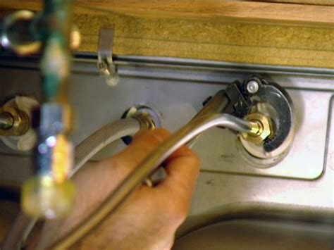 how to remove a kitchen sink faucet how to install a single handle kitchen faucet how tos diy