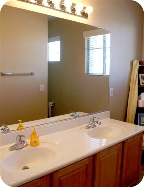 bathroom mirrors with frames frame your bathroom mirror plastic somewhat
