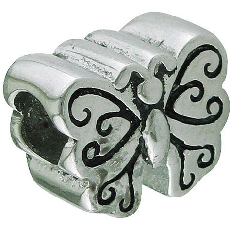hallmark charm connections from hallmark stainless steel butterfly charm