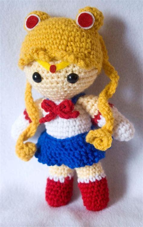 sailor moon knitting patterns 1000 ideas about sailor moon crochet on