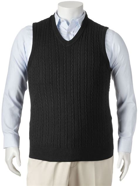 knit sweater vest dockers cable knit sweater vest big where to buy