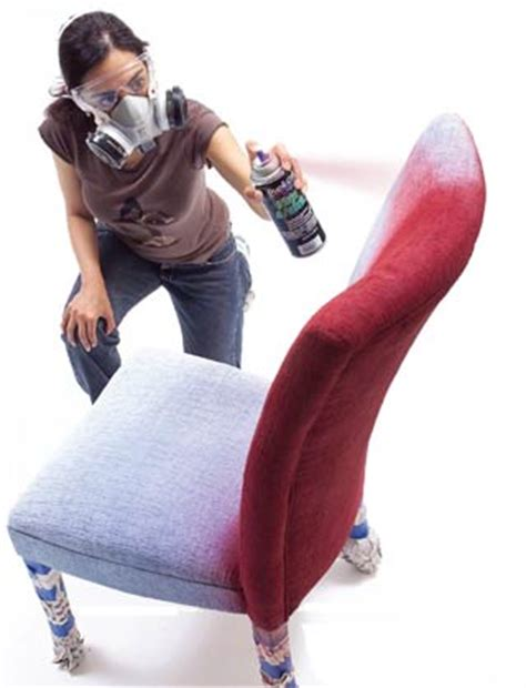 spray painting fabric furniture painting fabric furniture