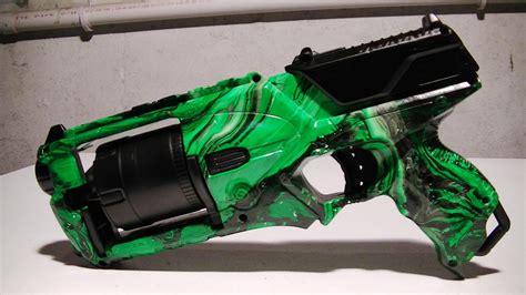 spray paint nerf gun how to swirl paint a nerf gun strongarm doovi