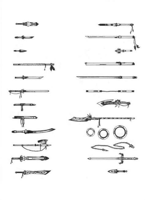sword list 24 best images about weapon list on