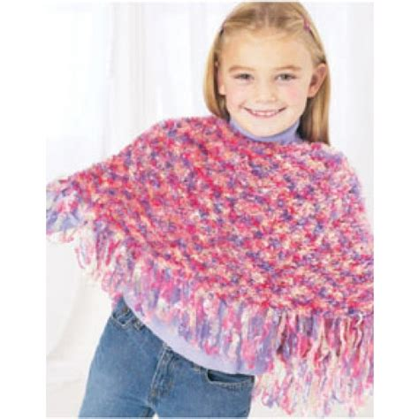 knit child poncho patterns free free child s poncho knit pattern
