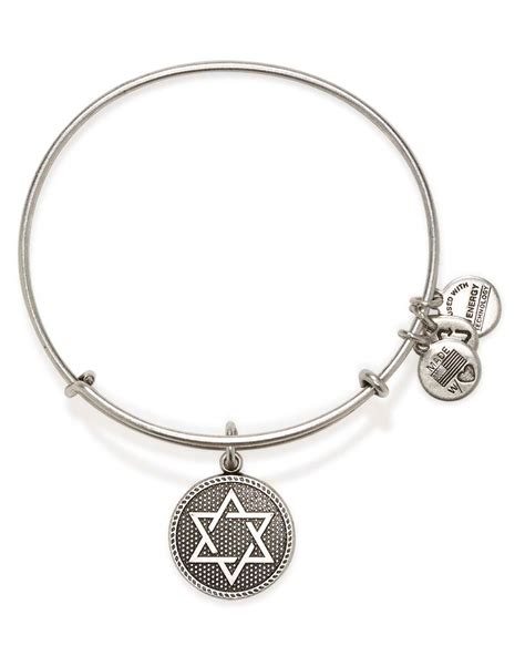 alex and ani alex and ani of david iii expandable wire bangle in