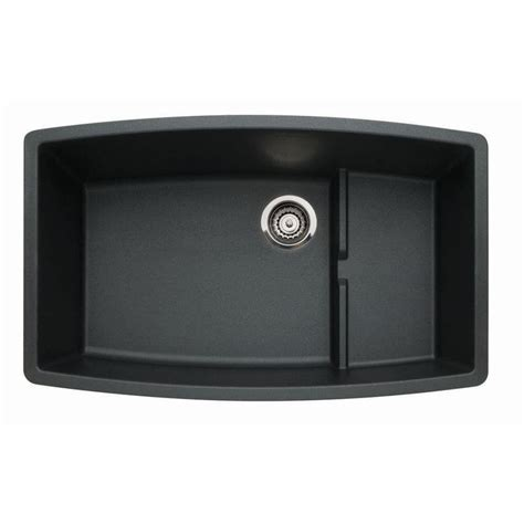 blanco granite kitchen sinks shop blanco performa single basin undermount granite