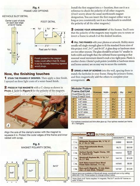 woodworking plans picture frames mix and match picture frame plans woodarchivist