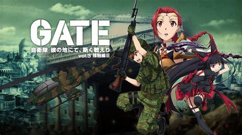 Anime Gate Jieitai Kanochi Nite Kaku Tatakaeri Bd