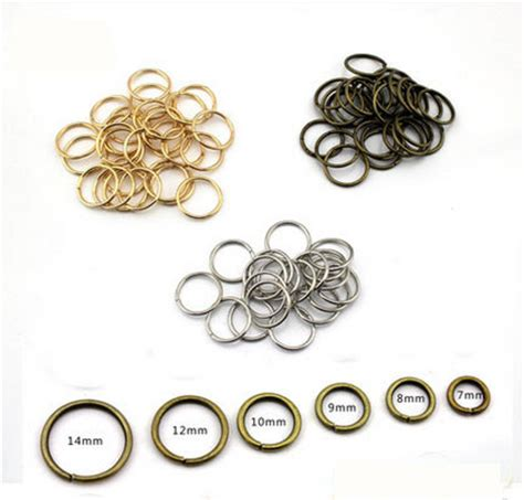 how to make jewelry findings 5mm jump rings for jewelry materials open ring diy