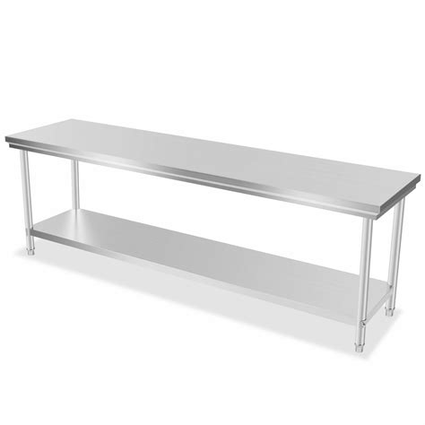 industrial kitchen work table industrial commercial stainless steel kitchen food prep