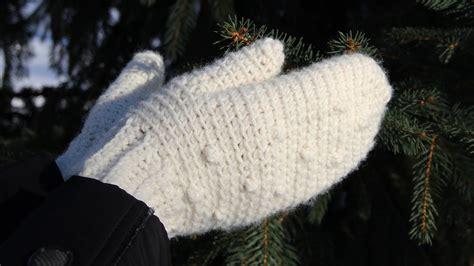 mitten knitting pattern for beginners how to crochet mittens tutorial for beginners