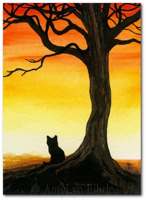 simple cat painting ideas best 25 black cat painting ideas on black cat