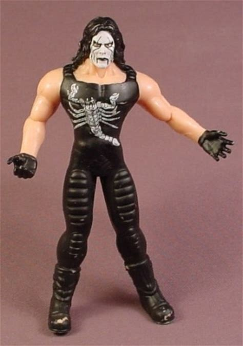 sting rubber wcw sting bendy figure 5 1 4 inches