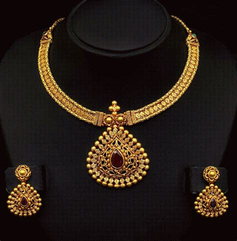 gold jewelry charges in india antique gold necklace with trendy locket gold necklaces