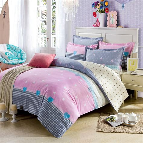exclusive bedding sets light pink and white exclusive cotton bedding set