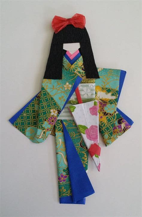 traditional japanese origami 1000 images about washi dolls on marque page