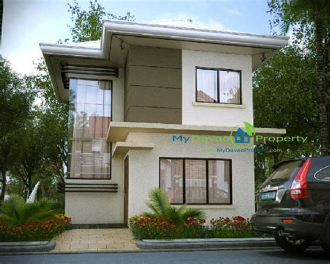 Narrow Home Floor Plans affordable house and lot at the prestige subdivision