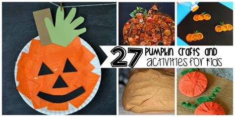 pumpkin crafts pumpkin activities for crystalandcomp