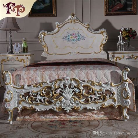 rococo bedroom set 2017 baroque antique furniture bedroom rococo style bed