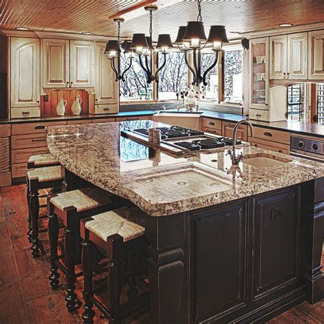 kitchen islands with stove kitchen island design ideas quinju