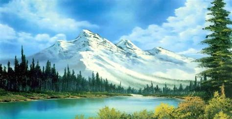 bob ross painting in the of writing about the of painting literary hub