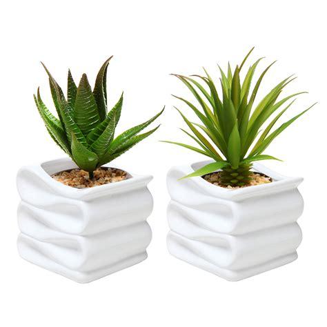 modern ceramic planter modern white folded design small ceramic plant pot