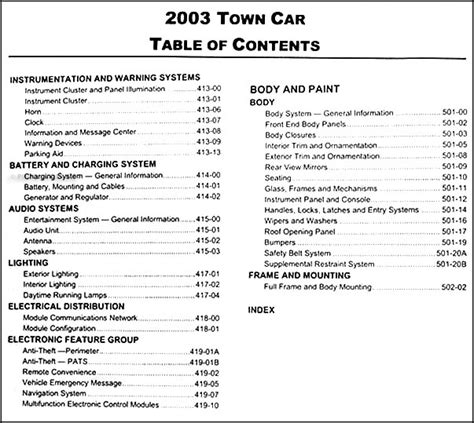 2003 2004 lincoln town car service repair manual oem ebay 2003 lincoln town car repair shop manual original