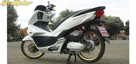 Pcx 2018 Thailook by Modifikasi Honda New Pcx 150 2014 Anti Mainstream