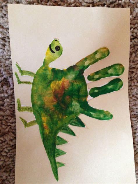 dinosaur craft for dino theme kiddie crafts