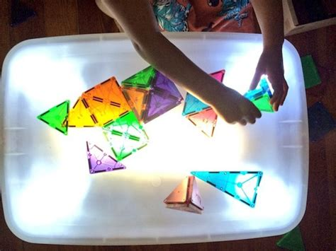 lights table diy light table light play explorations sturdy for