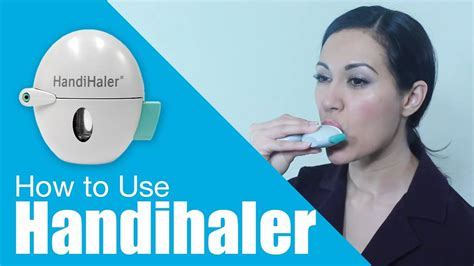 how to ise how to use handihaler
