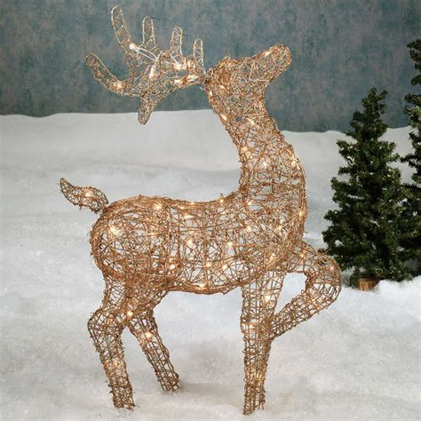 outdoor decorations deer 26 charming reindeer decoration ideas godfather style