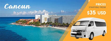 Transportation To Airport by Cancun Airport Transportation Cancun