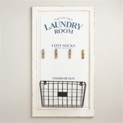 laundry room lost socks wall storage world market