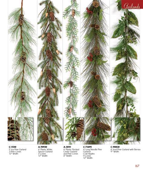 needle pine garland artificial garlands