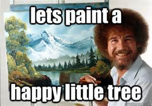 bob ross painting happy trees accessibility of web components