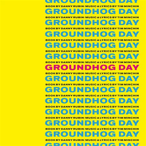 groundhog day musical groundhog day