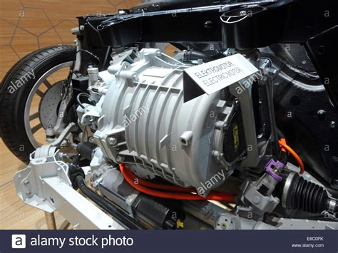 Electric Motor Engine by Electric Motor Engine In A Bmw I3 Shown At The 65th