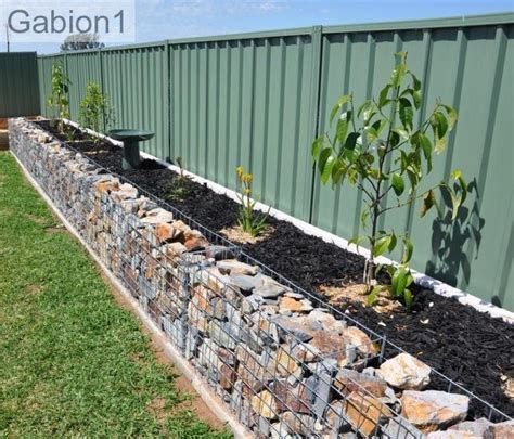 wall garden baskets gabion garden edges gabion1 uk