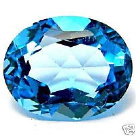 blue topaz 2 6 carat swiss blue topaz gemstone for saturn