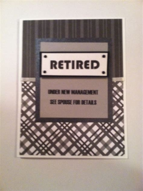 ideas for retirement cards to make retirement card handmade card ideas