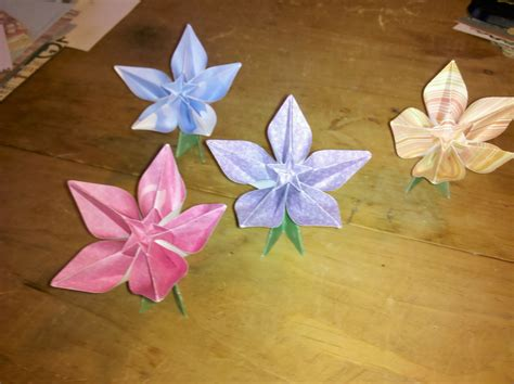 origami flowers flat origami flowers www imgkid the image kid has it