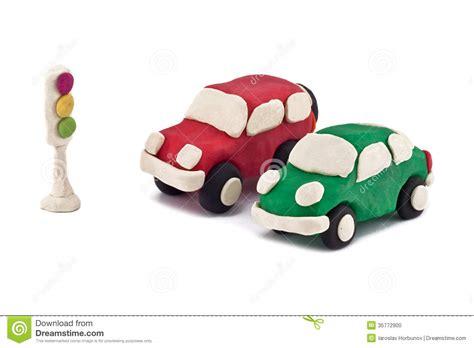 coches de la plastilina foto de archivo imagen 35772900