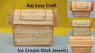 how to make craft how to make stick jewelry box popsicle stick