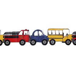 Car Themed Wallpaper Borders by Trucks Wallpaper Border Trains Cars Trucks Decor
