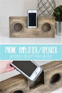 presents made of wood wooden phone lifier speaker no cord or batteries needed