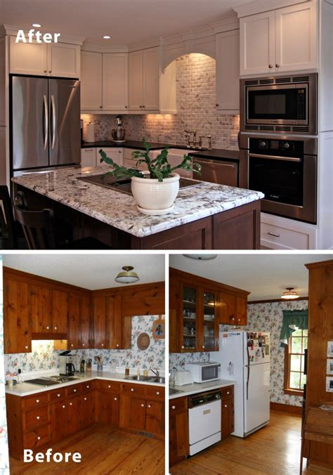 ideas for kitchen remodeling before after small kitchen remodels modern kitchens